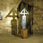 Înmormântarea – expoziție de colaci și cruci